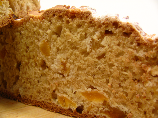 Inside view of Irish Soda Bread